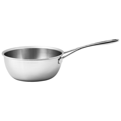 Demeyere Silver Sauteuse, Stainless steel