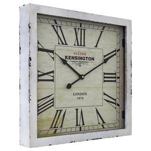Yosemite Home Decor - Square Wooden Wall Clock