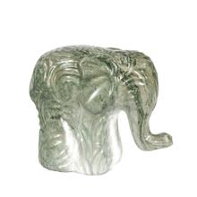 Green Marble Ceramic Elephant