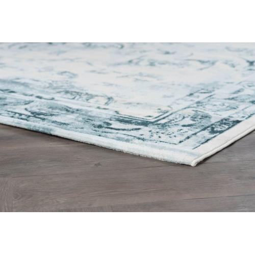Tayse Rugs - Concept - CNC1011 Blue Rug (Multiple sizes available)