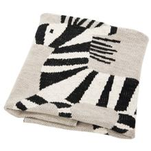 Zazu Throw - Grey / Natural / Black