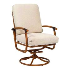 See Details - Glade Isle Cushion Swivel Rocking Dining Armchair