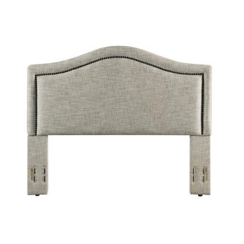 Grayling Headboard - King/Cal-King, Sandstone