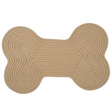 "Dog Bone Solid Dog Bone H330 Sand 18"" X 30"""