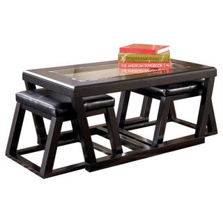 See Details - Cocktail Tbl W/2 Stools (3/cn)