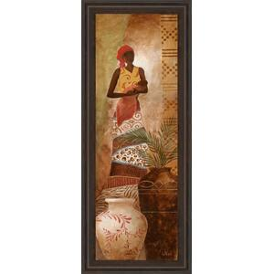 """Tribal Mother I"" Framed Print Wall Art"