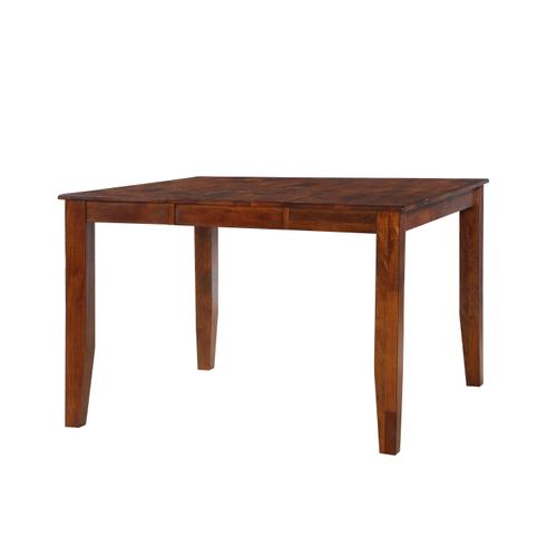 Fairwood Gathering Height Dining Table, Rustic Brown 1279-tpb5454