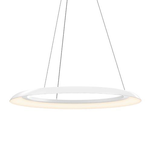 """Sonneman - A Way of Light - Torus LED Pendant [Size=32"""", Color/Finish=Satin White]"""