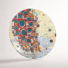 Block Dot Charger-Multi