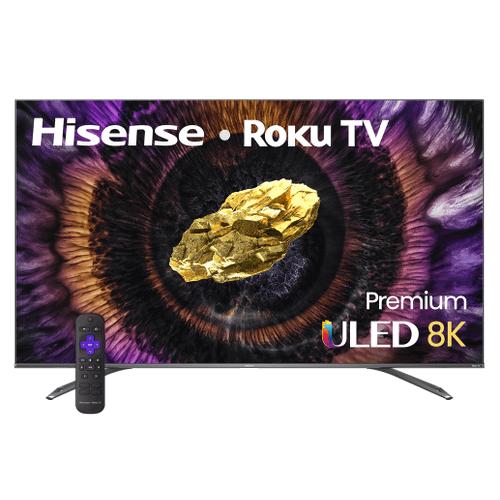 Hisense - U800GR 8K ULED ROKU TV - U800 Series