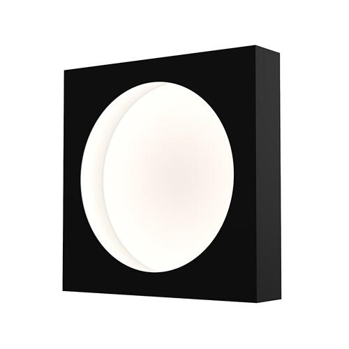 "Sonneman - A Way of Light - Vuoto LED Mount [Size=10"", Color/Finish=Satin Black]"