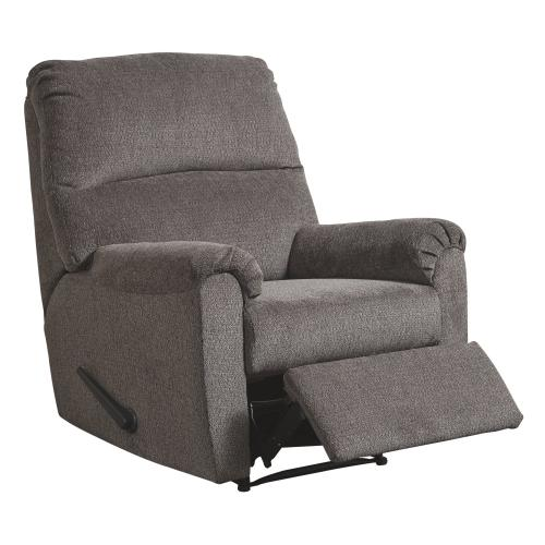 Nerviano Gray Zero Wall Recliner