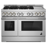Jenn-AirJenn-Air 48&quot RISE Gas Professional-Style Range with Chrome-Infused Griddle