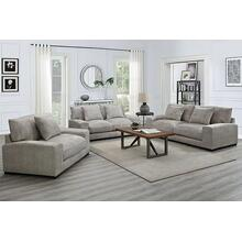 See Details - Big Chill Parchment Sofa, Loveseat, 1.5 Chair & Swivel Chair, U4439