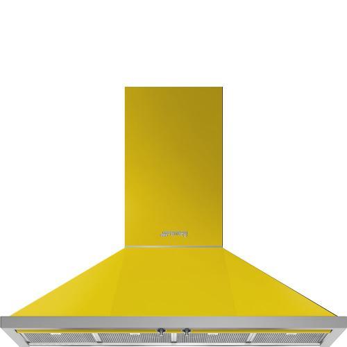 """48"""" Portofino Chimney Hood, Yellow"""