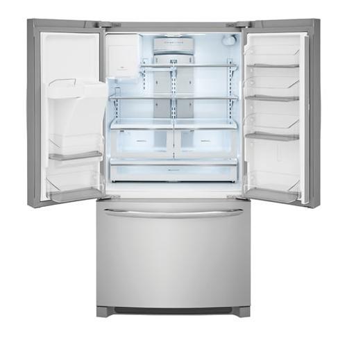 Frigidaire Gallery - Frigidaire Gallery 21.7CF Stainless Steel Counter-Depth French Door Refrigerator