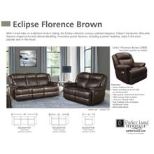 Power Leather Loveseat with Power Headrest