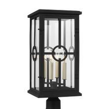 4 - Light Outdoor Post Lantern