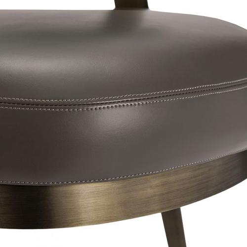 Adele Lounge Chair - Grey