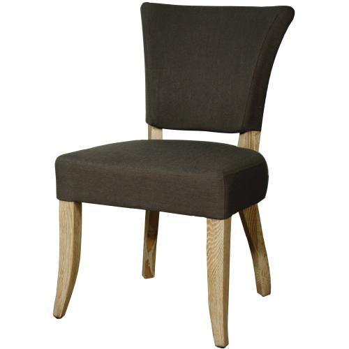Austin Fabric Dining Chair, Bark