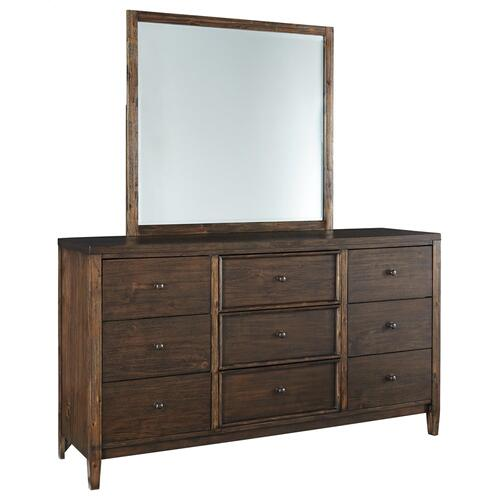 Kisper Dresser and Mirror