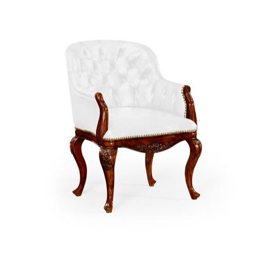 Chesterfield Style Armchair (COM)