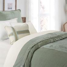 Seafoam Green Velvet Duvet Cover (super King/queen) - King