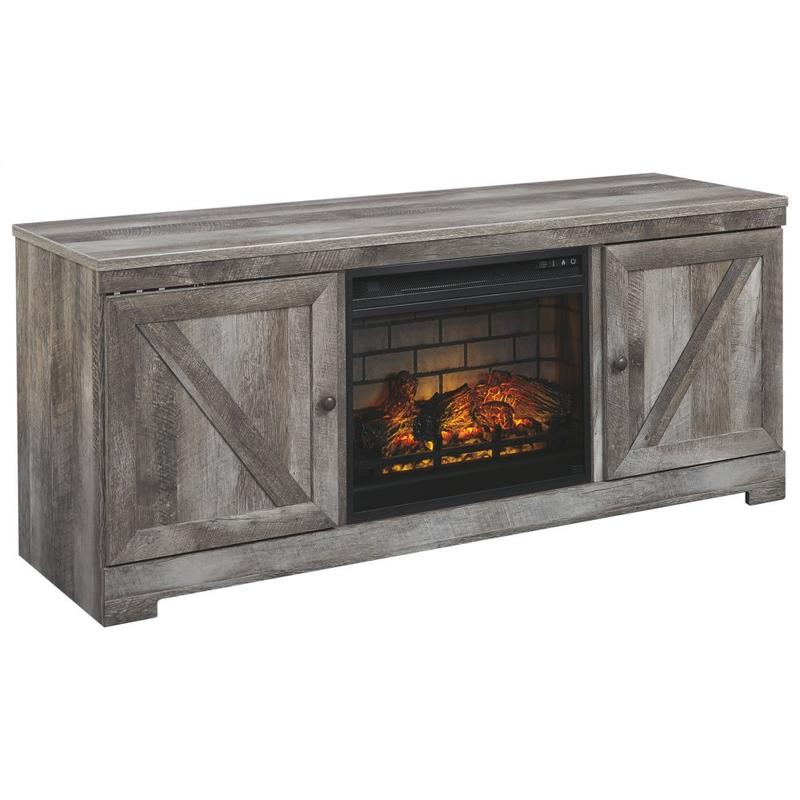 """View Product - Wynnlow 63"""" TV Stand With Electric Fireplace"""