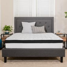 Capri Comfortable Sleep 12 Inch Memory Foam and Pocket Spring Mattress, Twin Mattress in a Box