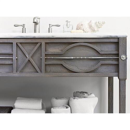 Ambella Home - Spindle Sink Chest - Weathered Grey