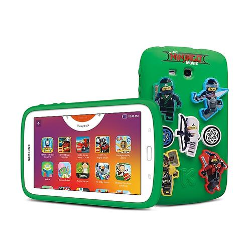 "Samsung - Galaxy Kids Tablet 7.0"" THE LEGO® NINJAGO® MOVIE Edition"