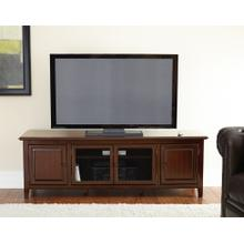 "Clairmont TV Cabinet, Black, 72"" x 18"" x 24"""