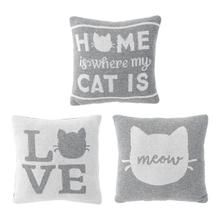 See Details - Mini Cat Knit Pillow (3 pc. ppk.)