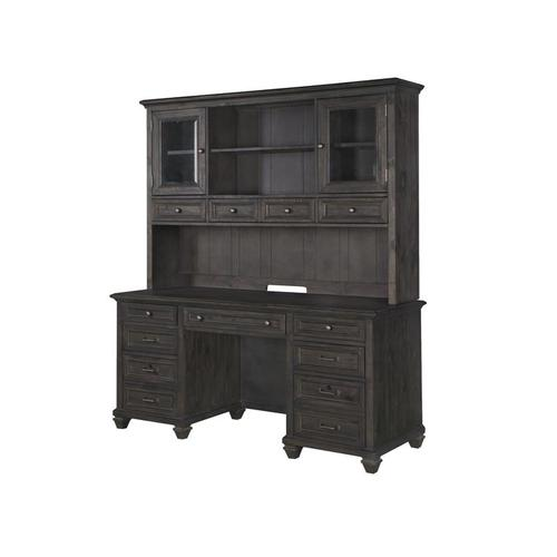 Magnussen Home - Credenza with Hutch