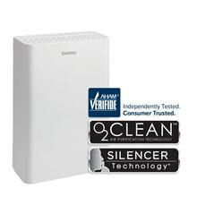 DANBY Air Purifier for small rooms and offices up to 170 sq. ft., True HEPA filter, Ionizer, Air Cleaner for Droplet Particles, Smoke, Pollens, Dust, Removes Odor, Ultra Quiet, Child Lock, 110 CADR, 233 CFM