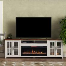 See Details - Hampton Super Fireplace Console (GL