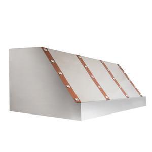 Zline KitchenZLINE Designer Series Under Cabinet Range Hood in DuraSnow® Stainless Steel (435-SXCCS) [Size: 36 Inch]