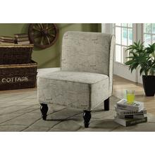ACCENT CHAIR - VINTAGE FRENCH TRADITIONAL FABRIC