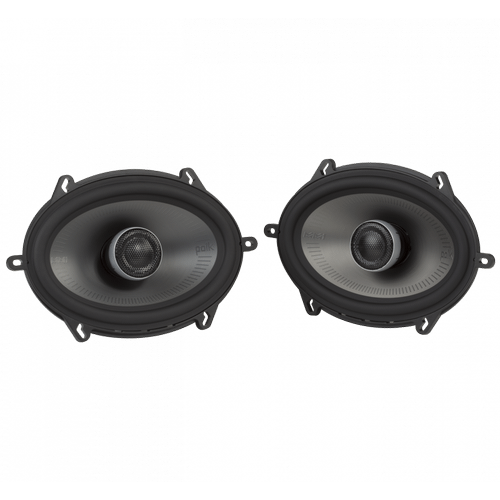 "MM1 Series Premium 5x7"" Coaxial Speakers with Ultra-Marine Certification in Black and Silver"