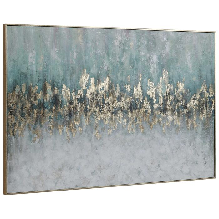 Uttermost - Divide Hand Painted Canvas