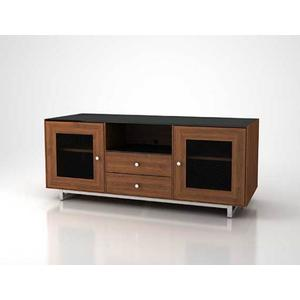 """Natural Walnut AV Stand For TVs up to 70"""" and 150 lbs / 68 kg"""