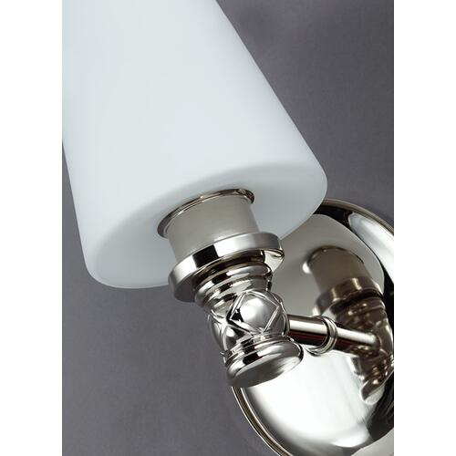Xavierre 1 - Light Sconce Polished Nickel