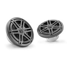View Product - 6.5-inch (165 mm) Marine Coaxial Speakers, Gunmetal Sport Grilles