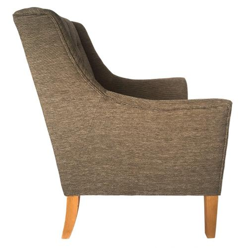 Crestview Collections - Andover Upholstered Button Tufted Arm Chair
