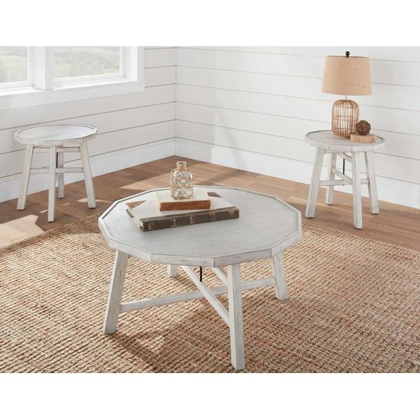 See Details - Paisley 3-Piece Occasional Set (Cocktail Table & 2 End Tables)