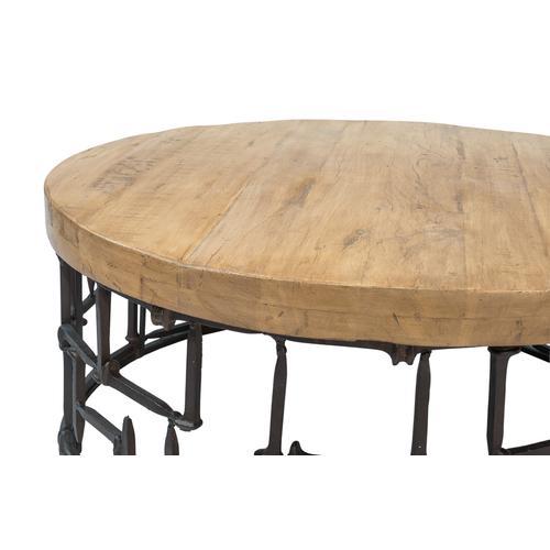 Railroad Nails Coffee Table