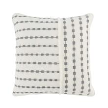 See Details - Katia Ivory Gray Pillow