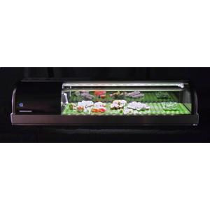 Hoshizaki - HNC-120BA-L-SLH, Refrigerator, Left Side Condenser Display Case, Half Glass Doors
