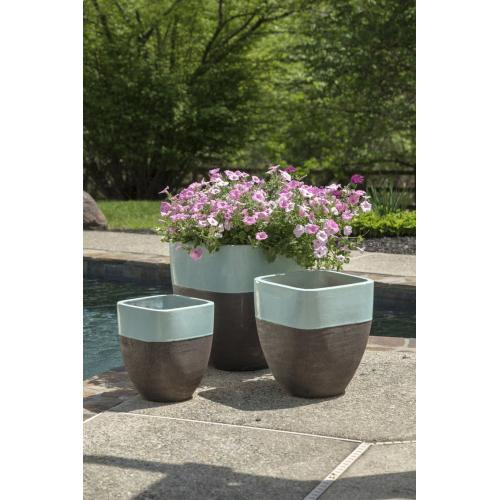Chagos Tall Square Planter - Set of 3