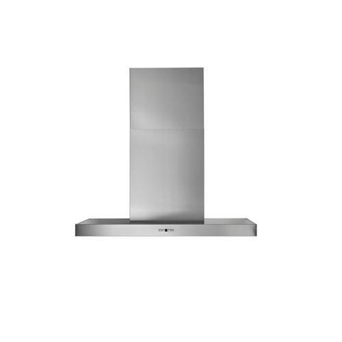 "BEST Range Hoods - WPB9 - 48"" x 24"" Stainless Steel Chimney Range Hood with iQ12 Blower System, 1500 Max CFM"